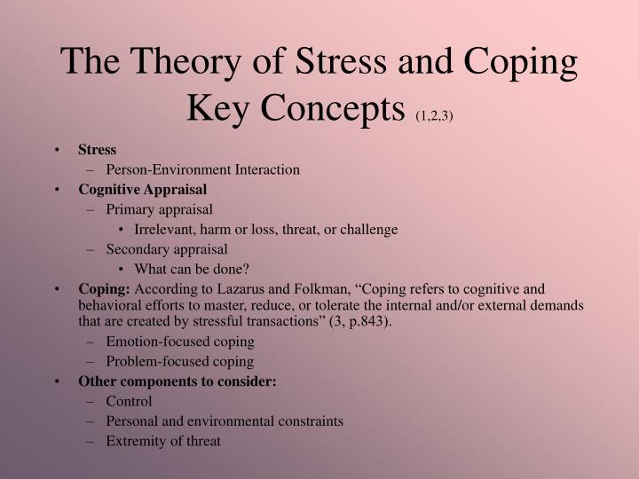 lazarus stress theory