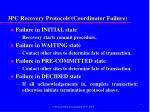 3pc recovery protocols coordinator failure
