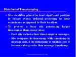 distributed timestamping1