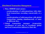 distributed transaction management1
