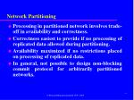 network partitioning1
