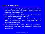 x open dtp model2