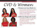 cvd women