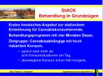 stack behandlung in grundz gen