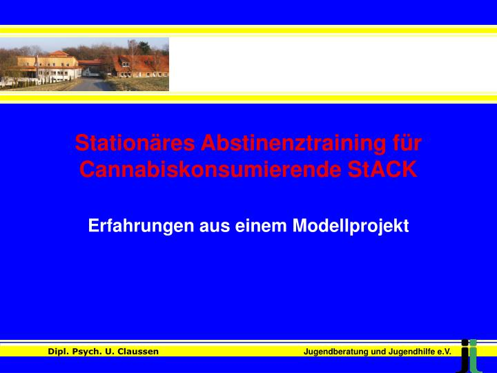 station res abstinenztraining f r cannabiskonsumierende stack n.
