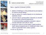 emotional nature conservation