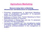 agriculture marketing