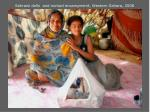 sahrawi dolls and nomad encampment western sahara 2008