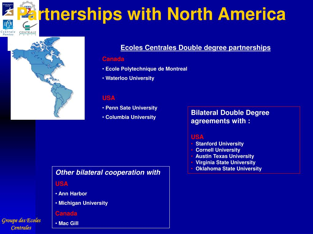 Partnerships with North America