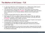 the mother of all cases tjx