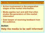 media partnership dissemination strategy