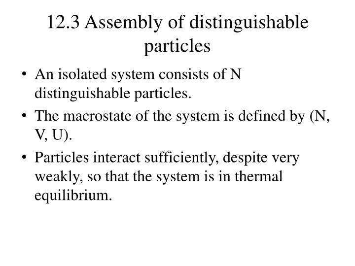 12 3 assembly of distinguishable particles n.