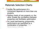 materials selection charts