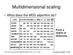 multidimensional scaling1