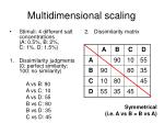 multidimensional scaling5