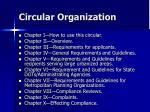 circular organization