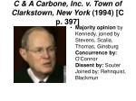 c a carbone inc v town of clarkstown new york 1994 c p 3971