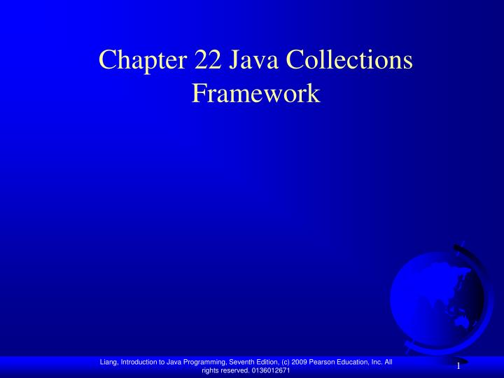 chapter 22 java collections framework n.