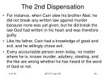 the 2nd dispensation15