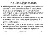 the 2nd dispensation4