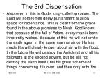 the 3rd dispensation4