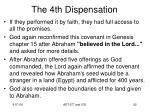 the 4th dispensation6
