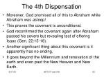 the 4th dispensation7