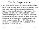 the 5th dispensation9