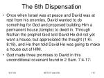 the 6th dispensation1