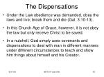 the dispensations16