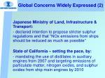global concerns widely expressed 2