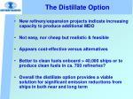 the distillate option28