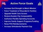 active force goals