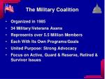 the military coalition