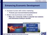 enhancing economic development