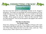 dissecting frogs1