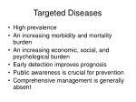 targeted diseases