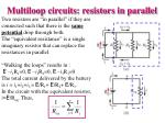 multiloop circuits resistors in parallel