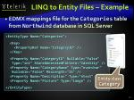 linq to entity files example