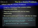 the n 1 query problem1