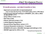 jopsc development process