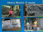 heavy metals e waste