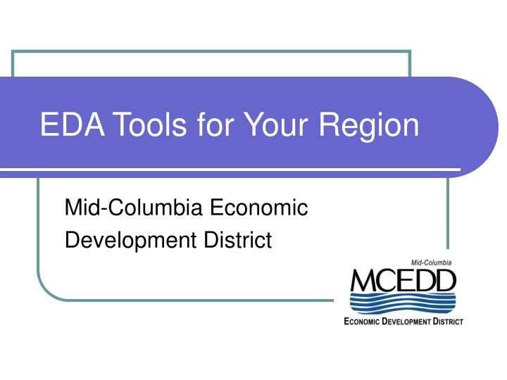 eda tools for your region n.