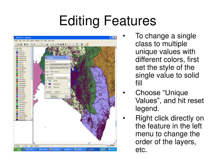 Editing Features