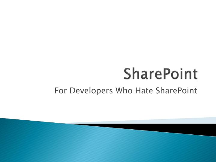 sharepoin t n.