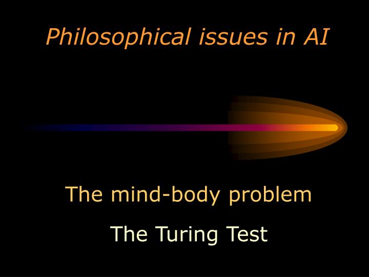 philosophical issues in ai n.