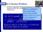 the calculus problem1