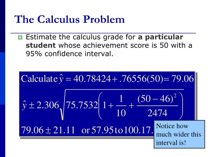 The Calculus Problem