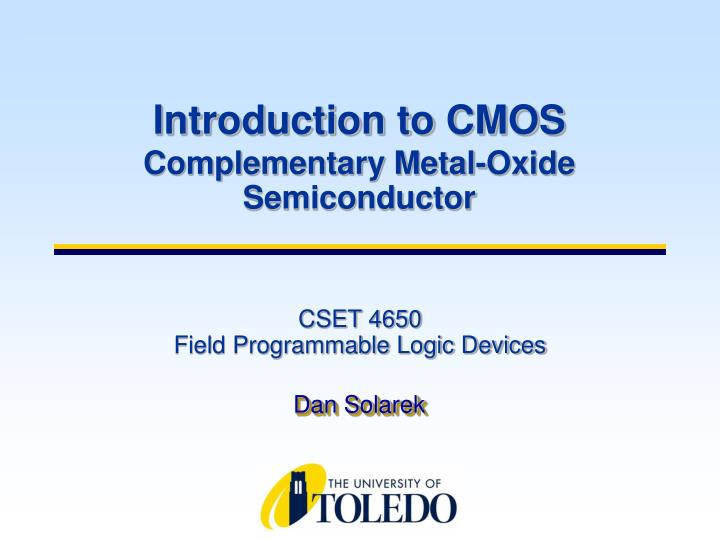 cset 4650 field programmable logic devices n.
