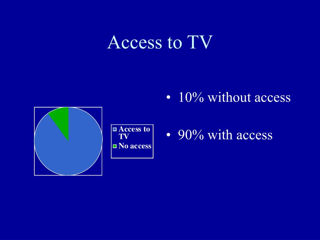 Access to TV